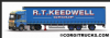 CORGI CC15808 Mercedes MP4 Super Trailer Curtainside, R T Keedwell